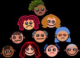 crowd cartoon