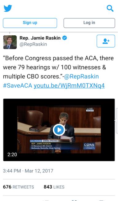 Raskin tweet