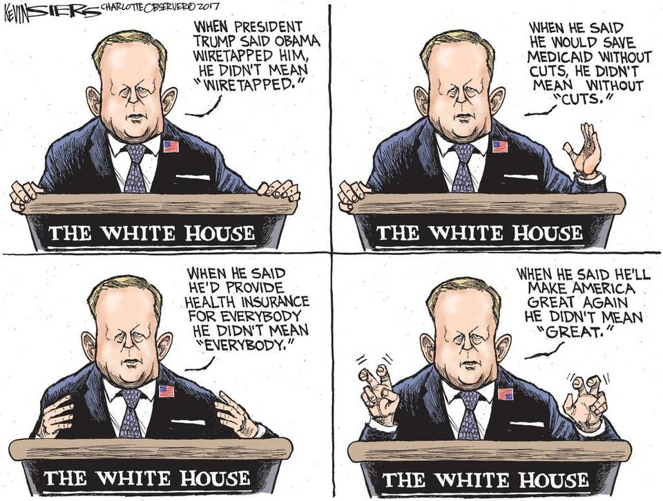 Spicer cartoon