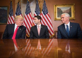 Trump, Ryan, Pence