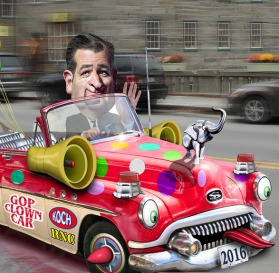 Ted Cruz car crop