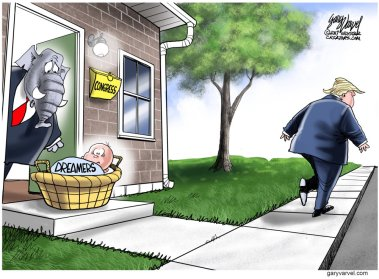 Trump DACA cartoon 2