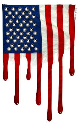 Las Vegas shooting flag